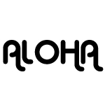 Aloha Vinyl Decal Sticker