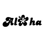 ALOHA WITH FLOWER Decal