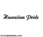 Hawaiian Pride Decal