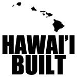 Hawaii Built Decal