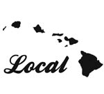 Local With Islands Decal