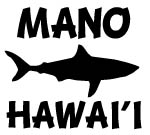 MANO HAWAII Decal