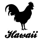 Moa Kane Hawaii Decal