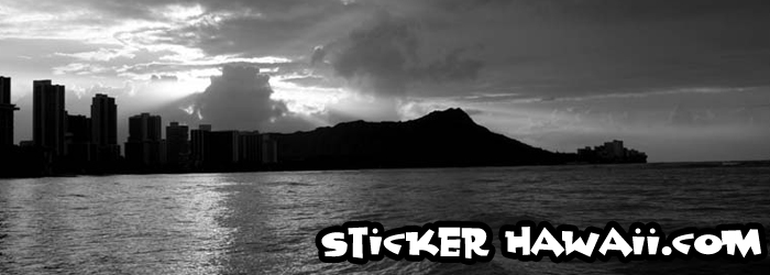 Sticker Hawaii